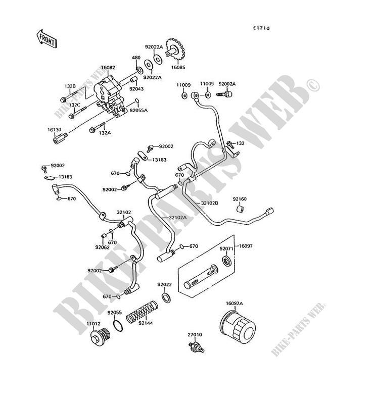 BOLT-FLANGED-SMALL Kawasaki Vulcan Oil Pressure Wiring Diagram on