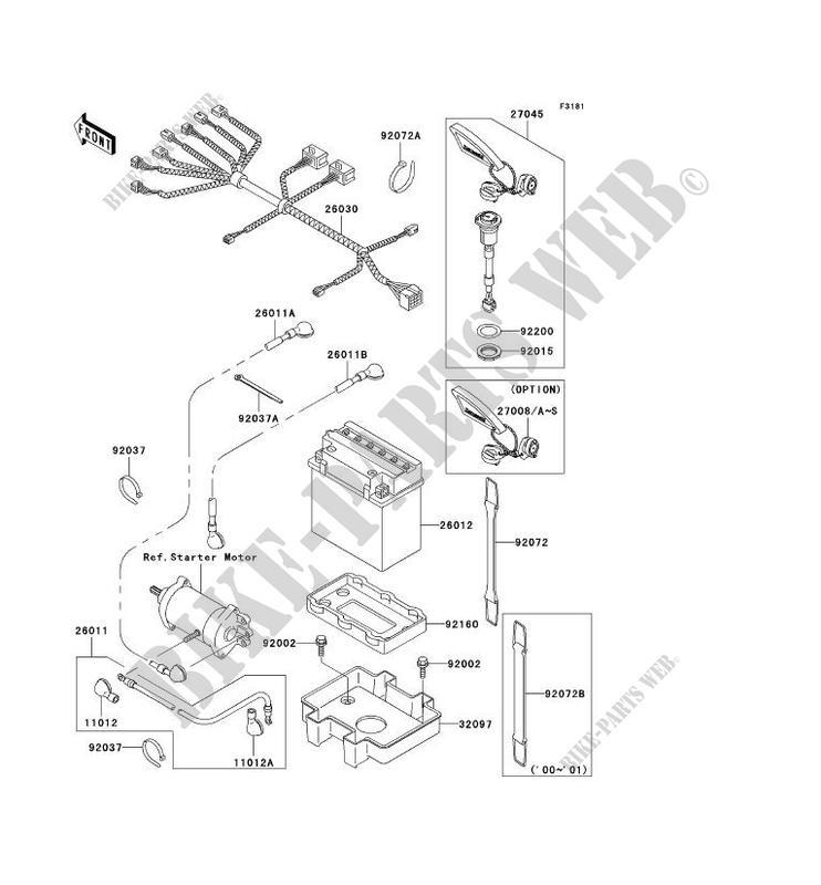 ELEKTRONISCHE AUSRUSTUNG JT1100 E3 JET SKI 1100 STX 2002 ... on